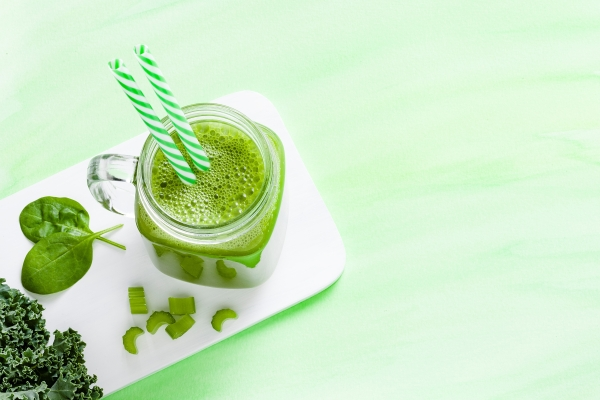 Fitness Smoothie-Liebe